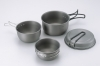 Two Person Aluminum Pot Set